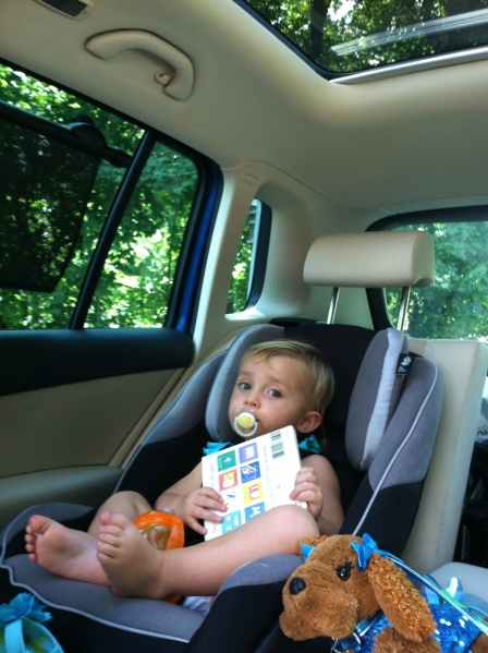 car ride essentials toddler